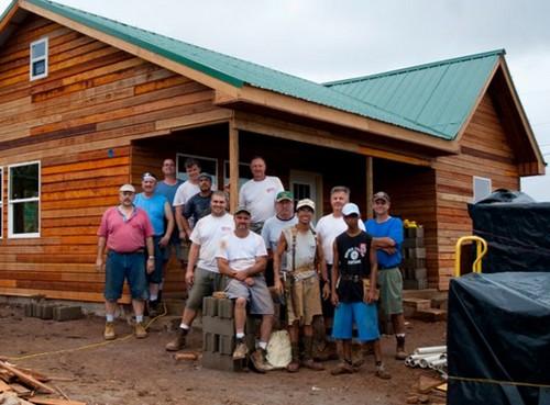 • Missionary home in Nicaragua • Worker cabins in Vanuatu