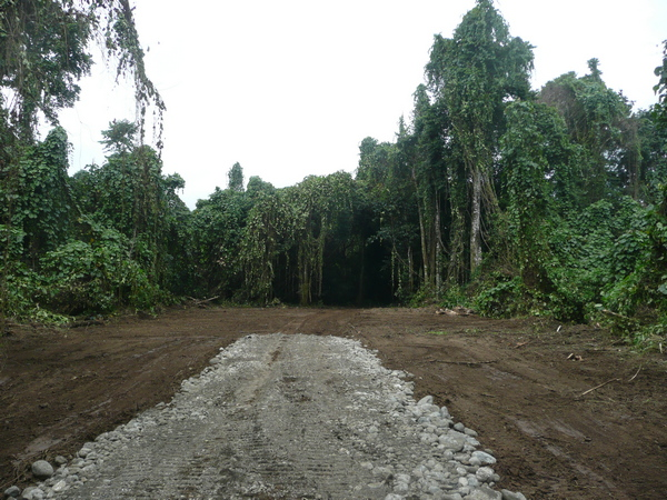 • Road constructed in Vanuatu • Bolivian projects