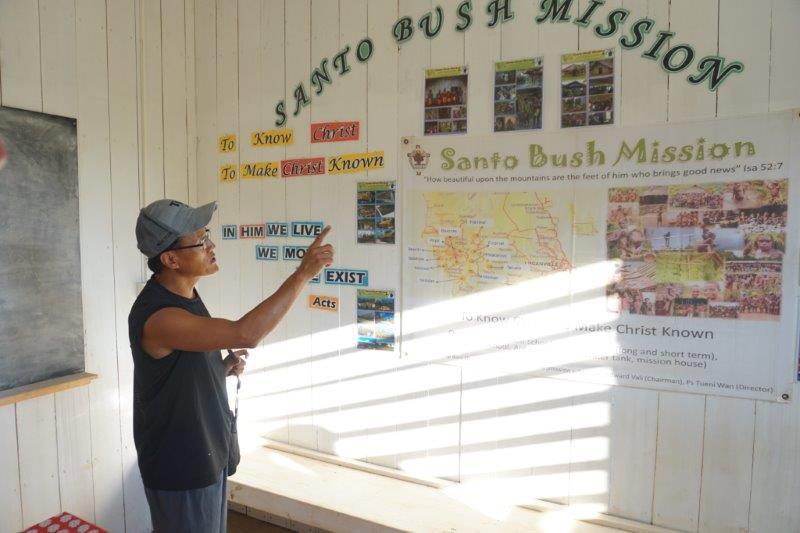 Santo Bush Mission in Vanuatu