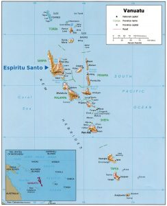 Detailed Vanuatu Map courtesy of www.nationsonline.org