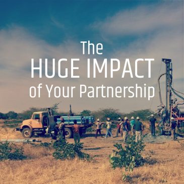 The Huge Impact of Your Partnership